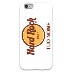 COVER HARD ROCK CAFè con il tuo nome per iPhone 3g/3gs 4/4s 5/5s/c 6/6s Plus iPod Touch 4/5/6 iPod nano 7