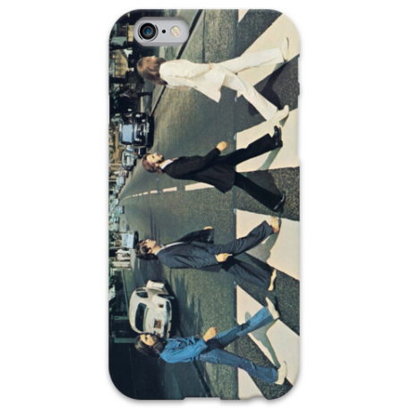 COVER THE BEATLES Abbey Road per iPhone 3g/3gs 4/4s 5/5s/c 6/6s Plus iPod Touch 4/5/6 iPod nano 7