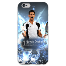 COVER Novak Djokovic per iPhone 3g/3gs 4/4s 5/5s/c 6/6s Plus iPod Touch 4/5/6 iPod nano 7