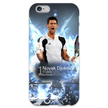 COVER Novak Djokovic per iPhone 3g/3gs 4/4s 5/5s/c 6/6s Plus iPod Touch 4/5/6 iPod nano 7