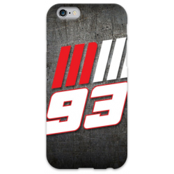 COVER MARC MARQUEZ 93 per iPhone 3g/3gs 4/4s 5/5s/c 6/6s Plus iPod Touch 4/5/6 iPod nano 7