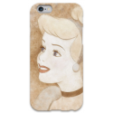 COVER CENERENTOLA viso per iPhone 3g/3gs 4/4s 5/5s/c 6/6s Plus iPod Touch 4/5/6 iPod nano 7