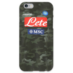 COVER NAPOLI MIMETICA per iPhone 3g/3gs 4/4s 5/5s/c 6/6s Plus iPod Touch 4/5/6 iPod nano 7