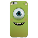 COVER MONSTER Mike Wazowski per iPhone 3g/3gs 4/4s 5/5s/c 6/6s Plus iPod Touch 4/5/6 iPod nano 7
