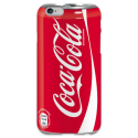 COVER COCA COLA per iPhone 3g/3gs 4/4s 5/5s/c 6/6s Plus iPod Touch 4/5/6 iPod nano 7