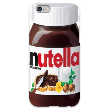 COVER NUTELLA per iPhone 3g/3gs 4/4s 5/5s/c 6/6s Plus iPod Touch 4/5/6 iPod nano 7