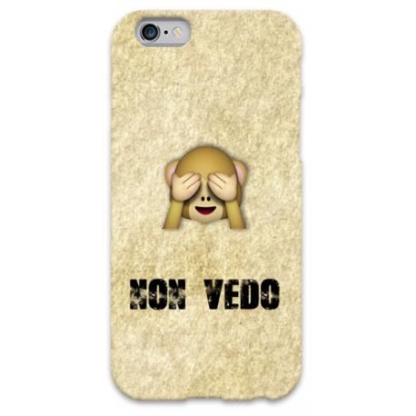 COVER NON VEDO WUP per iPhone 3g/3gs 4/4s 5/5s/c 6/6s Plus iPod Touch 4/5/6 iPod nano 7