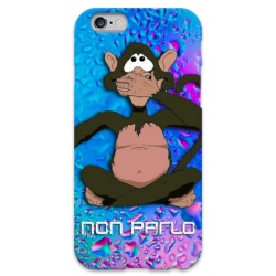 COVER NON PARLO per iPhone 3g/3gs 4/4s 5/5s/c 6/6s Plus iPod Touch 4/5/6 iPod nano 7