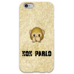 COVER NON PARLO WUP per iPhone 3g/3gs 4/4s 5/5s/c 6/6s Plus iPod Touch 4/5/6 iPod nano 7