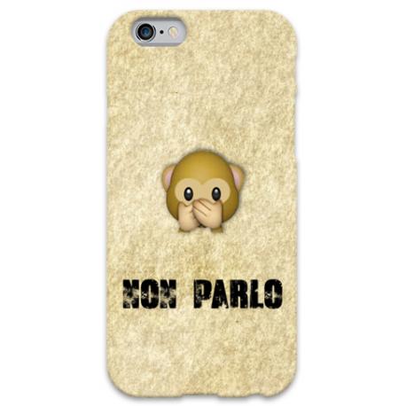 COVER NON PARLO WUP per iPhone 3g/3gs 4/4s 5/5s/c 6/6s Plus iPod Touch 4/5/6 iPod nano 7