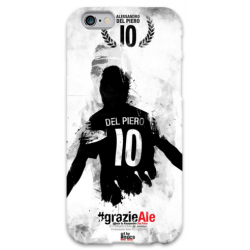 COVER DEL PIERO JUVE 2 per iPhone 3g/3gs 4/4s 5/5s/c 6/6s Plus iPod Touch 4/5/6 iPod nano 7
