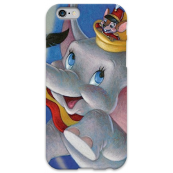 COVER DUMBO per iPhone 3g/3gs 4/4s 5/5s/c 6/6s Plus iPod Touch 4/5/6 iPod nano 7