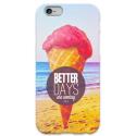 COVER GELATO BETTER DAYS ARE COMING per iPhone 3g/3gs 4/4s 5/5s/c 6/6s Plus iPod Touch 4/5/6 iPod nano 7