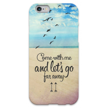 COVER COME WITH ME AND LET'S GO FOR AWAY per iPhone 3g/3gs 4/4s 5/5s/c 6/6s Plus iPod Touch 4/5/6 iPod nano 7