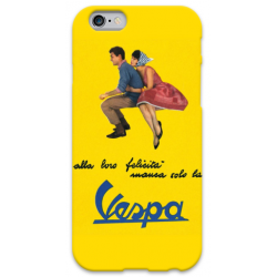 COVER VESPA GIALLO per iPhone 3g/3gs 4/4s 5/5s/c 6/6s Plus iPod Touch 4/5/6 iPod nano 7