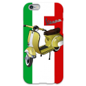 COVER VESPA ITALIA per iPhone 3g/3gs 4/4s 5/5s/c 6/6s Plus iPod Touch 4/5/6 iPod nano 7