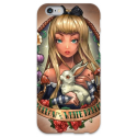 COVER ALICE TATTOO VINTAGE per iPhone 3g/3gs 4/4s 5/5s/c 6/6s Plus iPod Touch 4/5/6 iPod nano 7