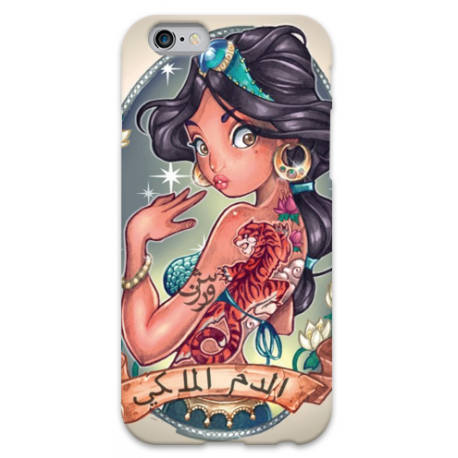 COVER POCAHONTAS TATTOO VINTAGE per iPhone 3g/3gs 4/4s 5/5s/c 6/6s Plus iPod Touch 4/5/6 iPod nano 7