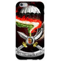 COVER FOLGORE PARACADUTISTI per iPhone 3g/3gs 4/4s 5/5s/c 6/6s Plus iPod Touch 4/5/6 iPod nano 7