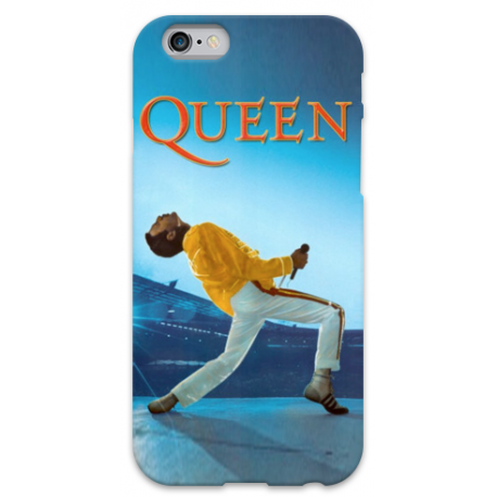 COVER FREDDY MERCURY QUEEN per iPhone 3g/3gs 4/4s 5/5s/c 6/6s Plus iPod Touch 4/5/6 iPod nano 7