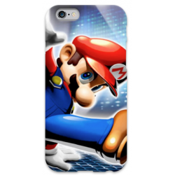 COVER MARIO BROS per iPhone 3g/3gs 4/4s 5/5s/c 6/6s Plus iPod Touch 4/5/6 iPod nano 7