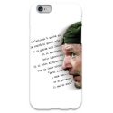 COVER VASCO ROSSI FRASE per iPhone 3g/3gs 4/4s 5/5s/c 6/6s Plus iPod Touch 4/5/6 iPod nano 7