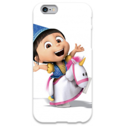 COVER AGNES MINIONS per iPhone 3g/3gs 4/4s 5/5s/c 6/6s Plus iPod Touch 4/5/6 iPod nano 7