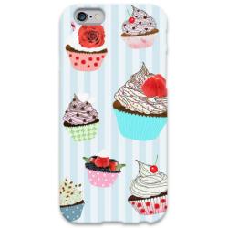 COVER CUPCAKE 2 per iPhone 3g/3gs 4/4s 5/5s/c 6/6s Plus iPod Touch 4/5/6 iPod nano 7