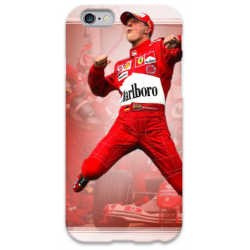 COVER MICHAEL SCHUMACHER FERRARI per iPhone 3g/3gs 4/4s 5/5s/c 6/6s Plus iPod Touch 4/5/6 iPod nano 7