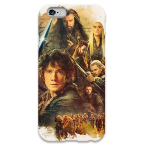 COVER LO HOBBIT per iPhone 3g/3gs 4/4s 5/5s/c 6/6s Plus iPod Touch 4/5/6 iPod nano 7