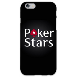 COVER POKER STARS per iPhone 3g/3gs 4/4s 5/5s/c 6/6s Plus iPod Touch 4/5/6 iPod nano 7