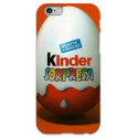COVER OVETTO KINDER per iPhone 3g/3gs 4/4s 5/5s/c 6/6s Plus iPod Touch 4/5/6 iPod nano 7