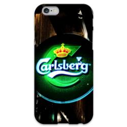 COVER CARLSBERG BIRRA per iPhone 3g/3gs 4/4s 5/5s/c 6/6s Plus iPod Touch 4/5/6 iPod nano 7