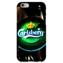 COVER CARLSBERG BIRRA per iPhone 3g/3gs 4/4s 5/5s/c 6/6s Plus iPod Touch 4/5/6 iPod nano 7