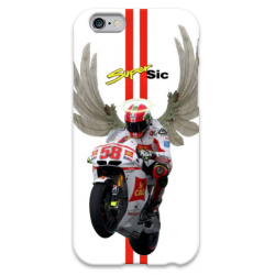 COVER MARCO SIMONCELLI per iPhone 3g/3gs 4/4s 5/5s/c 6/6s Plus iPod Touch 4/5/6 iPod nano 7