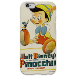 COVER PINOCCHIO per iPhone 3g/3gs 4/4s 5/5s/c 6/6s Plus iPod Touch 4/5/6 iPod nano 7