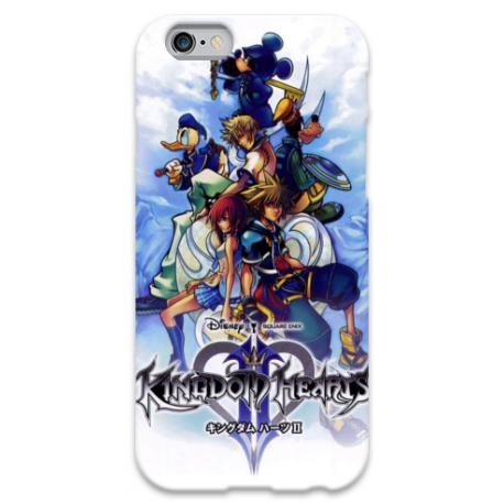 COVER KINGDOM HEARTS per iPhone 3g/3gs 4/4s 5/5s/c 6/6s Plus iPod Touch 4/5/6 iPod nano 7
