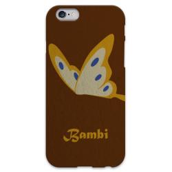 COVER BAMBI FARFALLA per iPhone 3g/3gs 4/4s 5/5s/c 6/6s Plus iPod Touch 4/5/6 iPod nano 7