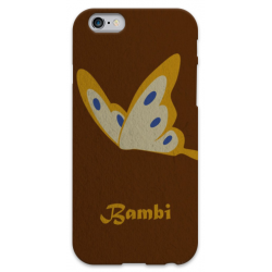 COVER BAMBI FARFALLA per iPhone 3g/3gs 4/4s 5/5s/c 6/6s Plus iPod Touch 4/5/6 iPod nano 7