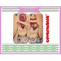 COVER DI COPPIA AMICHE BEST FRIENDS per APPLE SAMSUNG HUAWEI LG SONY