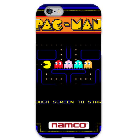 COVER PACMAN per iPhone 3g/3gs 4/4s 5/5s/c 6/6s Plus iPod Touch 4/5/6 iPod nano 7