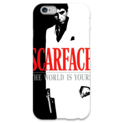 COVER SCARFACE per iPhone 3g/3gs 4/4s 5/5s/c 6/6s Plus iPod Touch 4/5/6 iPod nano 7