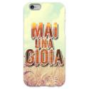 COVER MAI UNA GIOIA per iPhone 3g/3gs 4/4s 5/5s/c 6/6s Plus iPod Touch 4/5/6 iPod nano 7