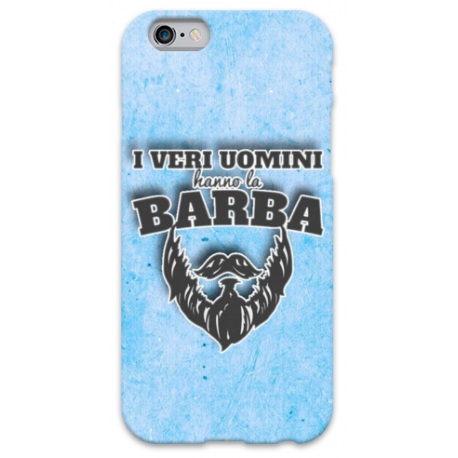 COVER I VERI UOMINI HANNO LA BARBA per iPhone 3g/3gs 4/4s 5/5s/c 6/6s Plus iPod Touch 4/5/6 iPod nano 7