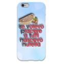 COVER SE VOLEVO PIACERE A TUTTI NASCEVO NUTELLA per iPhone 3g/3gs 4/4s 5/5s/c 6/6s Plus iPod Touch 4/5/6 iPod nano 7