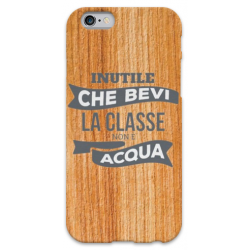 COVER INUTILE CHE BEVI LA CLASSE NON è ACQUA per iPhone 3g/3gs 4/4s 5/5s/c 6/6s Plus iPod Touch 4/5/6 iPod nano 7