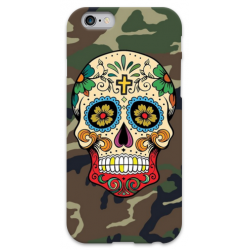 COVER TESCHIO MESSICANO MIMETICA per iPhone 3g/3gs 4/4s 5/5s/c 6/6s Plus iPod Touch 4/5/6 iPod nano 7