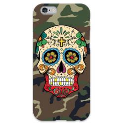 COVER TESCHIO MESSICANO MIMETICA per iPhone 3g/3gs 4/4s 5/5s/c 6/6s Plus iPod Touch 4/5/6 iPod nano 7