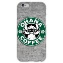 COVER STITCH OHANA COFFEE per iPhone 3g/3gs 4/4s 5/5s/c 6/6s Plus iPod Touch 4/5/6 iPod nano 7