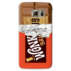 COVER WILLY WONKA CIOCCOLATO per SAMSUNG GALAXY SERIE S, S MINI, A, J, NOTE, ACE, GRAND NEO, PRIME, CORE, MEGA